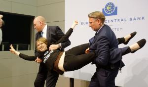 Femen Confetti Bomb ECB Pres