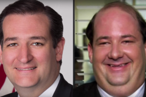 Ted Cruz is Dwight from the Office. THAT'S A FACT