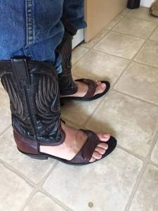 redneck sandal bs kitchen benandsiyablog