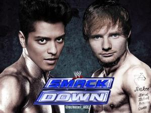Bruno Mars Vs. Ed Sheeran